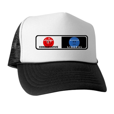 Conservative - Liberal Trucker Hat