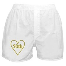 50th Wedding Anniversary Boxer Shorts