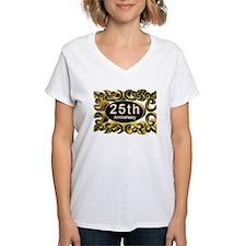 25th Wedding Anniversary Shirt