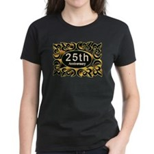 25th Wedding Anniversary Tee