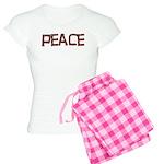 Anti-war Peace Letters Women's Light Pajamas