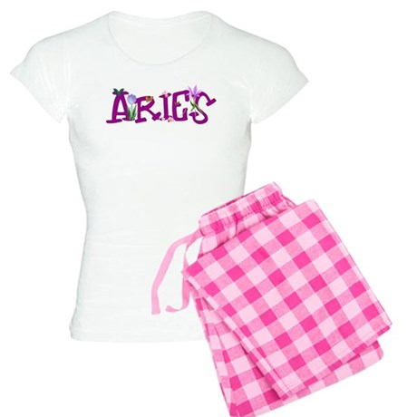 Aries Flowers Women's Light Pajamas