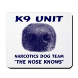Narcotics Dog Team Mousepad
