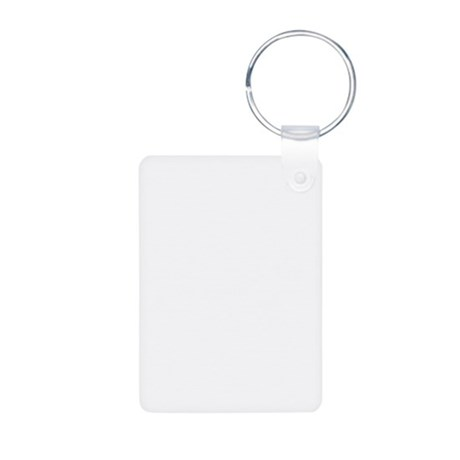 Reality Option Aluminum Photo Keychain