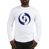 Long sleeve crop circle T-shirt