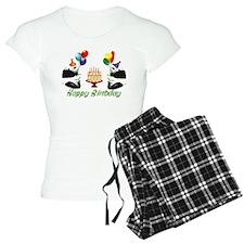Birthday Pandas Pajamas