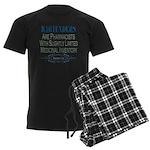 Bartenders Men's Dark Pajamas