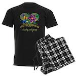 Beautiful Mother-in-law Men's Dark Pajamas