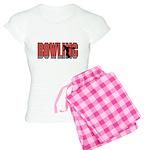 Bowling Nuts Women's Light Pajamas