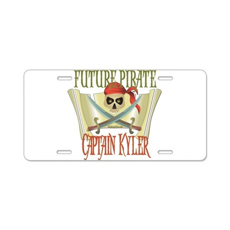Captain Kyler Aluminum License Plate