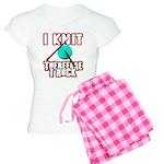 I Knit - Therefore I Rock Women's Light Pajamas