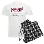 Psychotic Housewife Men's Light Pajamas
