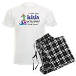 I Take My Kids Everywhere Men's Light Pajamas