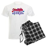 Grandkids - All the fun! Men's Light Pajamas
