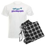 Crazy about my Grandbabies! Men's Light Pajamas