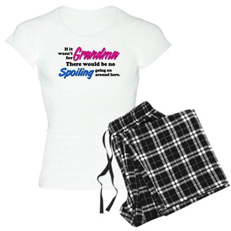 Grandma - No Spoiling! Women's Light Pajamas