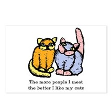 I Like My Cat Postcards (Package of 8)