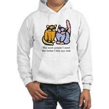I Like My Cat Hooded Sweatshirt