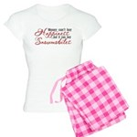 Snowmobiling Women's Light Pajamas