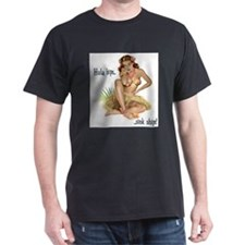 Dreamy Wahine Pin Up Girl T-Shirt