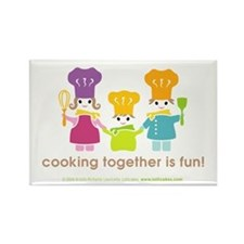 Family of Chefs Fridge Magnet