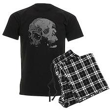 Skulls Double Time Pajamas