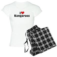 I Love Kangaroos pajamas