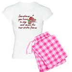 Two-Stroke Roses Women's Light Pajamas