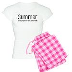 Summer... snowmobile Women's Light Pajamas