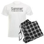Summer... snowmobile Men's Light Pajamas