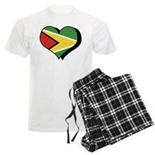 I Love Guyana Pajamas