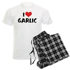 I Love Garlic Pajamas