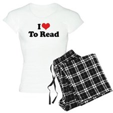 I Love To Read 2 Pajamas