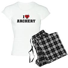 I Love Archery Pajamas