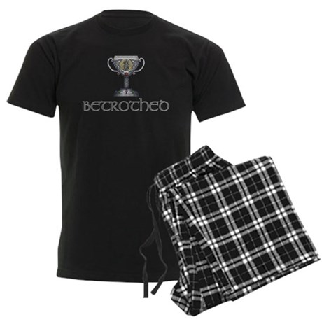 Celtic Betrothed Men's Dark Pajamas