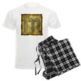 Celtic Letter M Pajamas