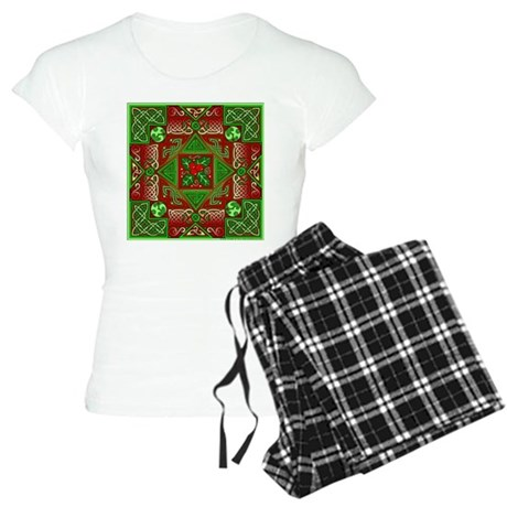 Celtic Labyrinth Holly Women's Light Pajamas