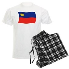 Liechtenstein Flag 2 Pajamas