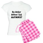 Blutwurst Women's Light Pajamas
