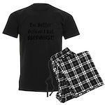 Blutwurst Men's Dark Pajamas