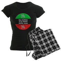 Cuore Della Casa Women's Dark Pajamas