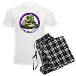 Kiss Me I'm Crunchy Men's Light Pajamas