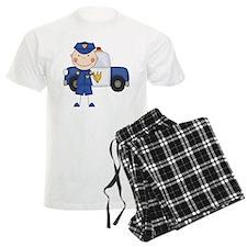 Stick Figure Police Officer pajamas