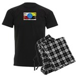 Humanbeingflag Men's Dark Pajamas