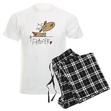 Prancer Reindeer Pajamas