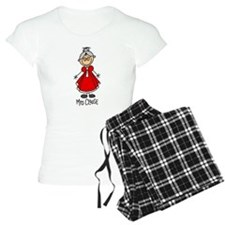 Mrs. Santa Claus pajamas