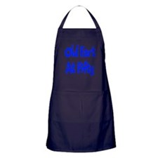 50th Birthday Apron (dark)