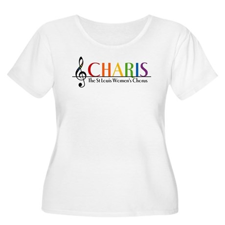 CHARIS Women's Plus Size Scoop Neck T-Shirt