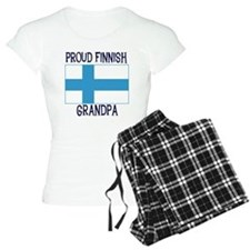 Proud Finnish Grandpa Pajamas