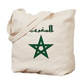 Morocco Script Tote Bag